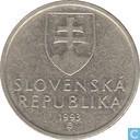 Slovakia 5 korun 1993