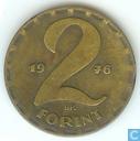 Hongrie 2 forint 1976