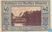 Admont 40 Heller 1920