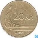 Norwegen 20 Krone 1994