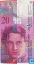 Switzerland 20 Francs 1994