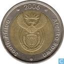 Afrique du Sud 5 rand 2006