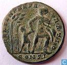 Römisches Kaiserreich Konstantinopel AE2 Centenionalis des Kaisers Constans 348-350 n. Chr. Chr.
