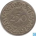 Suriname 250 cent 1987