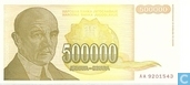 Yougoslavie 500 000 Dinara