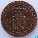 Nederlands-Indië ½ cent 1859