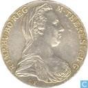 Coins - Austria - Austria 1 thaler 1780 (SF)