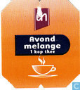 Tea bags and Tea labels - Albert Heijn - Avondmelange