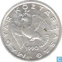 Hongarije 10 fillér 1990