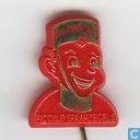 Piccolo spaarzegels Boulevard Zuid [goud op rood]