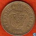 1994 Columbia 100 pesos