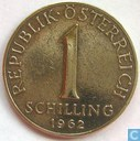 Autriche 1 schilling 1962