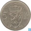 Norway 5 kroner 1963