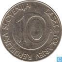 Slowenien, 10 tolarjev 2004