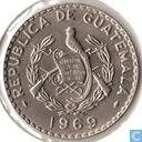 Guatemala 25 centavos 1969