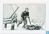Nieuwjaarskaart Le Chat Mort 1999