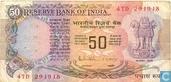 Inde Roupies 50