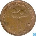 Malaysia 1 sen 1989