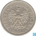 Poland 1 zloty 1994