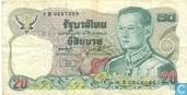 Thailand 20 Baht 1981 (P88a2)