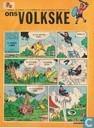 Bandes dessinées - Ons Volkske (tijdschrift) - 1972 nummer  43