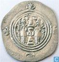 Sassaniden AR Drachme Khusro II, 590-628