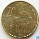 Serbien 20 Dinara 2003