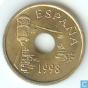 "Espagne 25 pesetas 1998 ""Ceuta"""