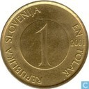 Slovenia 1 Tolar 2001