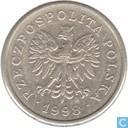 Pologne 20 groszy 1998