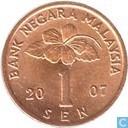 Maleisië 1 sen 2007