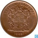 South Africa 1998 2 cents