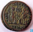 Kleinfollis AE3 Cyzicus Roman Empire of Emperor Constantine the Great 330-335 AD.