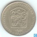 Tchécoslovaquie 2 koruny 1989