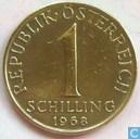 Autriche 1 schilling 1968