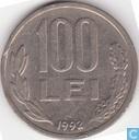Roumanie 100 lei 1992