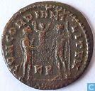 Romeinse Keizerrijk Cyzicus Antoninianus van Keizer Maximianus 295-299 n.Chr.