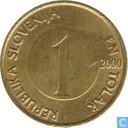 Slovenia 1 tolar 2000
