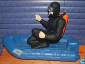 Actionman duiker met boot