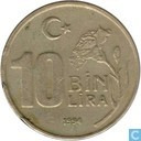 Turkije 10 bin lira 1994