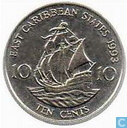 East Caribbean States 10 cents 1993