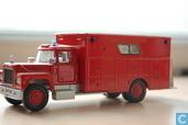 Mack rescue truck