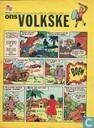 Bandes dessinées - Ons Volkske (tijdschrift) - 1966 nummer  27