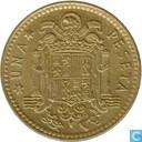 Spanje 1 peseta 1975 (1977)