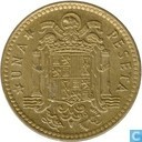 Spain 1 peseta 1975 (1977)
