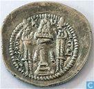 Sassaniden Atrapatan AR Drachme Peroz, 459-484