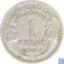 Frankrijk 1 franc 1941 (aluminium)