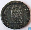 Kleinfollis AE3 Cyzicus Roman Empire of Emperor Constantine the Great 324-325 AD.