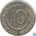 Slowenien, 10 Tolarjev 2002