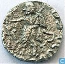 Indo-Scythian Kingdom of Bactria Drachma Azes King II 35 -12 BC